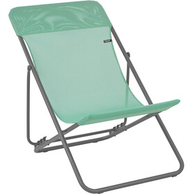 Lafuma Mobilier Maxi Transat Campingstol Batyline grå/grøn